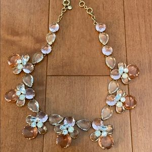 J. Crew Pink Statement Necklace